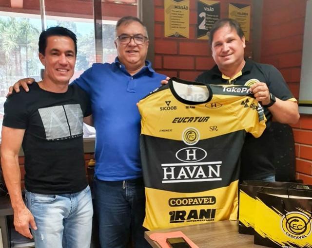 FC Cascavel firma parceria com ISP Saúde para reestruturação do departamento de fisioterapia do clube