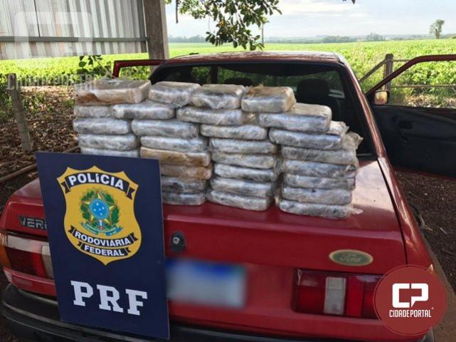 PRF apreende 30 kg de crack em Santa Terezinha de Itaipu