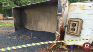 Choque contra poste deixa uma vítima fatal na PR-317 em Santa Helena