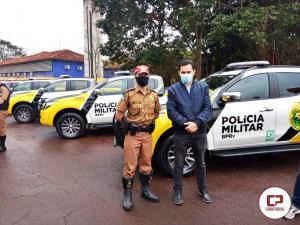 Governo do Estado entrega 10 viaturas novas para 3ª Cia PRE de Cascavel