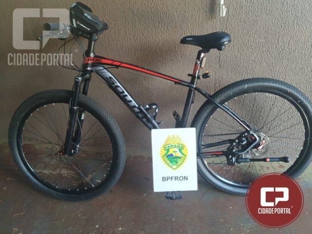 BPFRON recupera bicicleta roubada em Foz do Iguaçu
