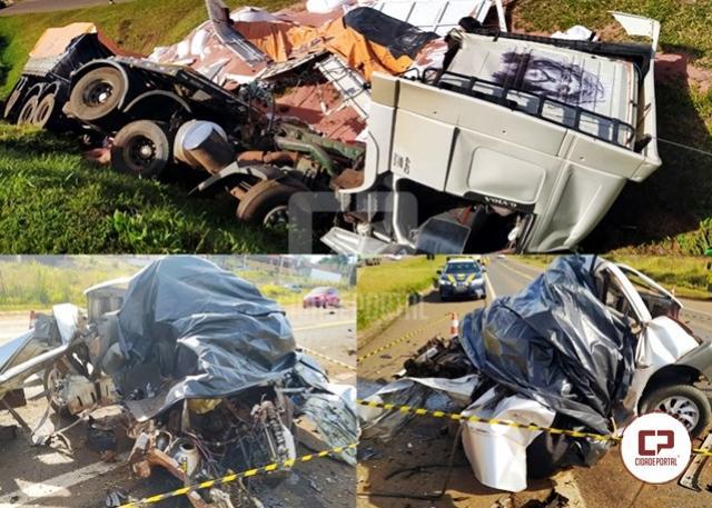 Jovem de 21 anos perde a vida em trágico acidente na BR-277