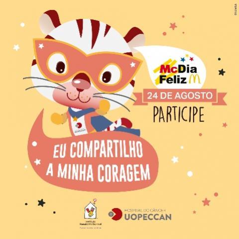 UOPECCAN participa do McDia Feliz 2019 em Cascavel