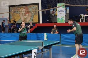 Cascavel, Maringá e Londrina ficam com título do tênis de mesa em duplas nos JAPS