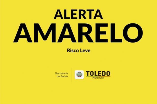 Covid-19: Toledo entra na bandeira amarela, mas cenário ainda preocupa