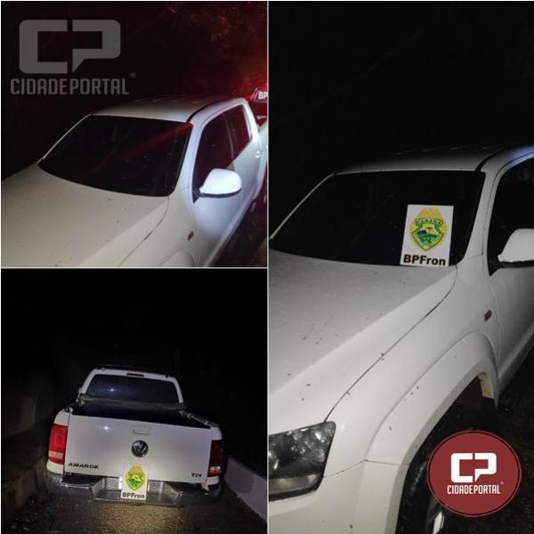 BPFRON recupera veículo roubado em Foz do Iguaçu