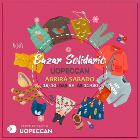 Bazar da Uopeccan de Cascavel abrirá neste sábado, 19