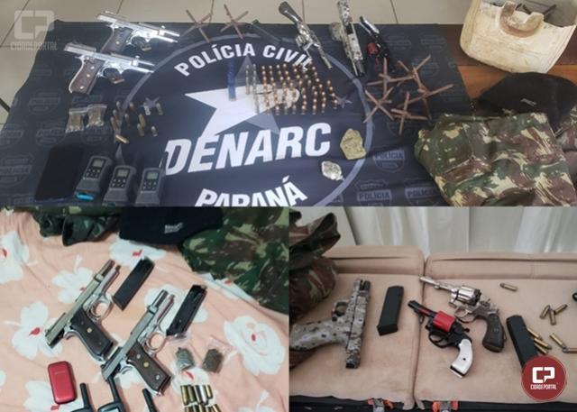 Polícia Civil, PRF e Polícia Militar cumprem 8 mandado judiciais em Foz do Iguaçu