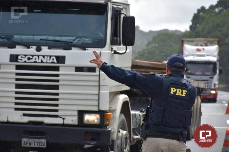 Polícia Rodoviária Federal divulga restrição de tráfego de veículos para 2019