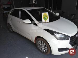 BPFron apreende veículo roubado carregado com insumos de suplementos vitamínicos em Cascavel