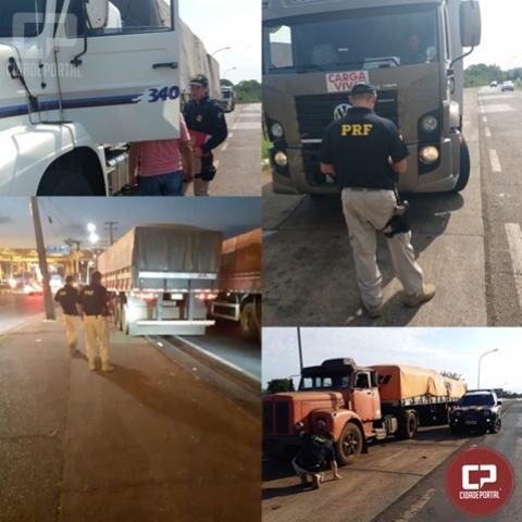 PRF realiza Operação Cruze Seguro em Foz do Iguaçu