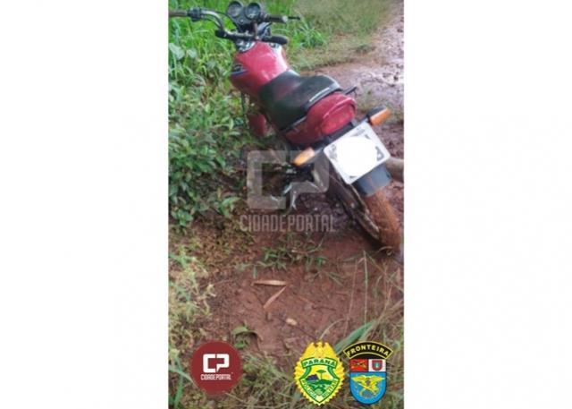 BPFron recupera motocicleta que foi furtada em Marechal Cândido Rondon