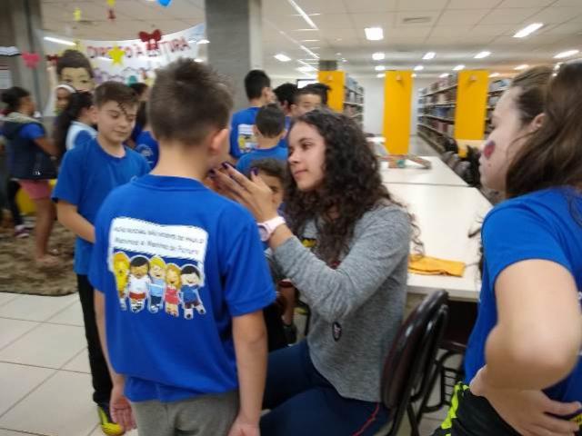 CJU leva incentivo à leitura às crianças da Ação Social em Toledo
