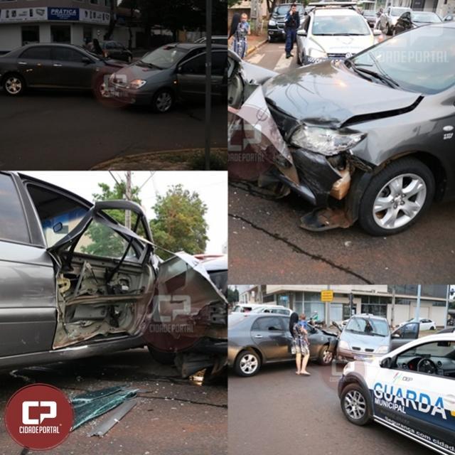 Guarda Municipal atende acidente automotivo em Toledo