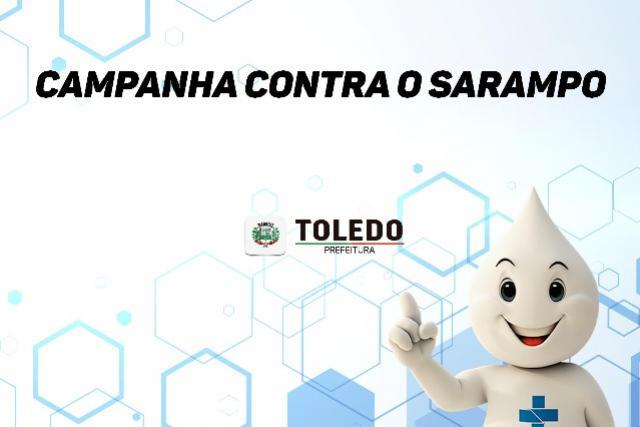 Atenção comunidade! Dia D contra o sarampo neste sábado, 19, em Toledo