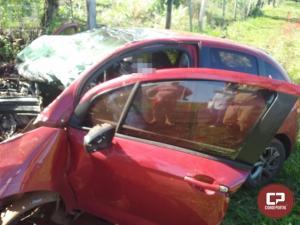Homem perde a vida após capotamento na PR-495 em Pato Bragado