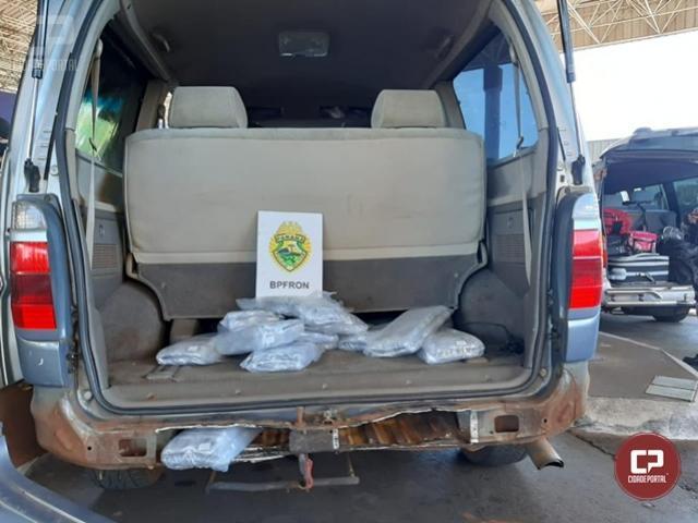 BPFron apreende Van carregada com contrabando em Foz do Iguaçu
