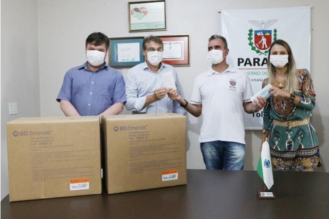 Secretaria de Saúde de Toledo reforça insumos para imunização