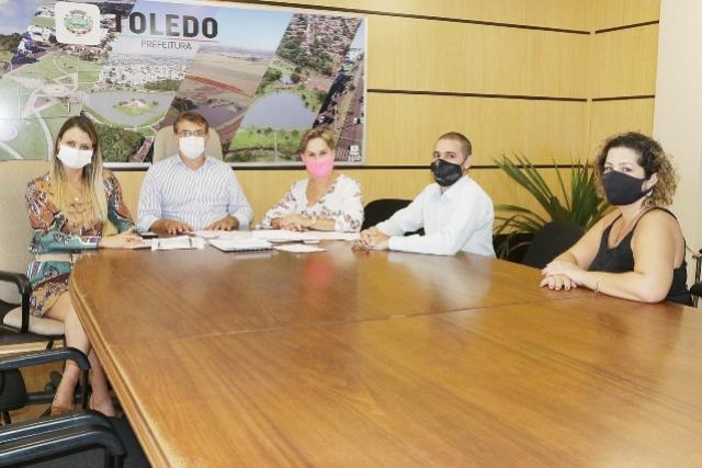 Ciscopar é tema de encontro entre prefeito de Toledo e presidente da entidade