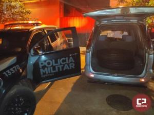 Veículos são apreendidos com contrabando em Foz do Iguaçu durante Operação Hórus