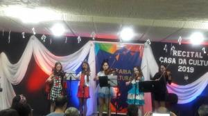 Agenda Cultural: Recitais acontecem na casa da cultura em Toledo
