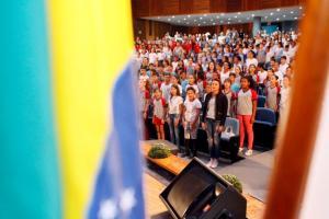 Formatura do Proerd reúne mais de 600 alunos de Toledo