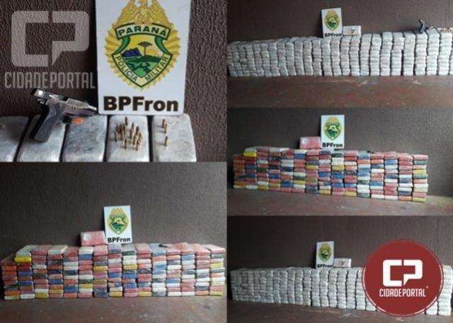 BPFRON apreende grande quantidade de crack e cocaína durante Operação Hórus em Foz do Iguaçu