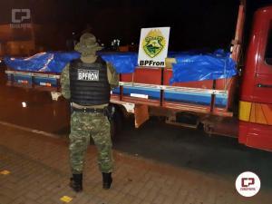 Batalhão de Polícia de Fronteira em ação da Operação HÓRUS apreende 4 toneladas de drogas em Missal