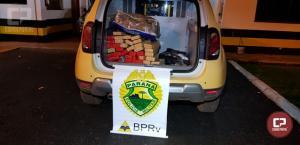 Polícia Rodoviária Estadual de Marechal Cândido Rondon apreende 55,8 kg de maconha