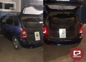 BPFRON apreende veículo carregado com pneus contrabandeados em Foz do Iguaçu