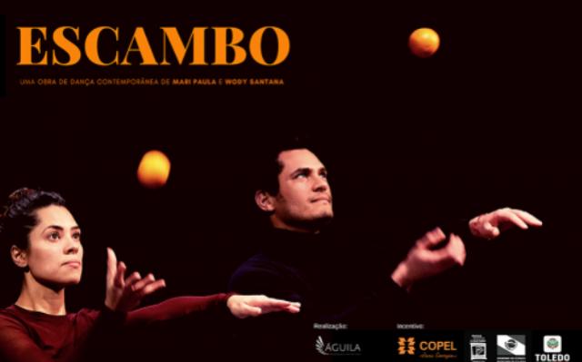 Toledo recebe o espetáculo de dança - Projeto Escambo - em abril