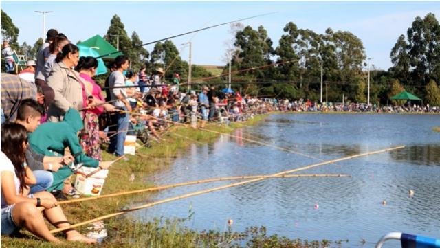 Com clima agradável de Toledo foi realizado com sucesso a 1º Too Pescando