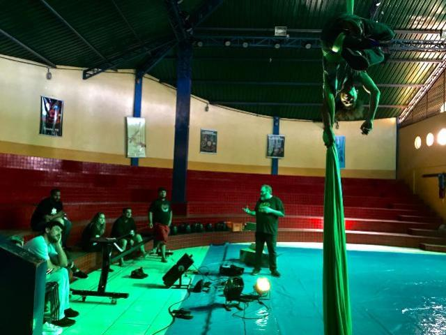 Circo da Alegria Realiza Oficina de Iluminação Cênica em Toledo
