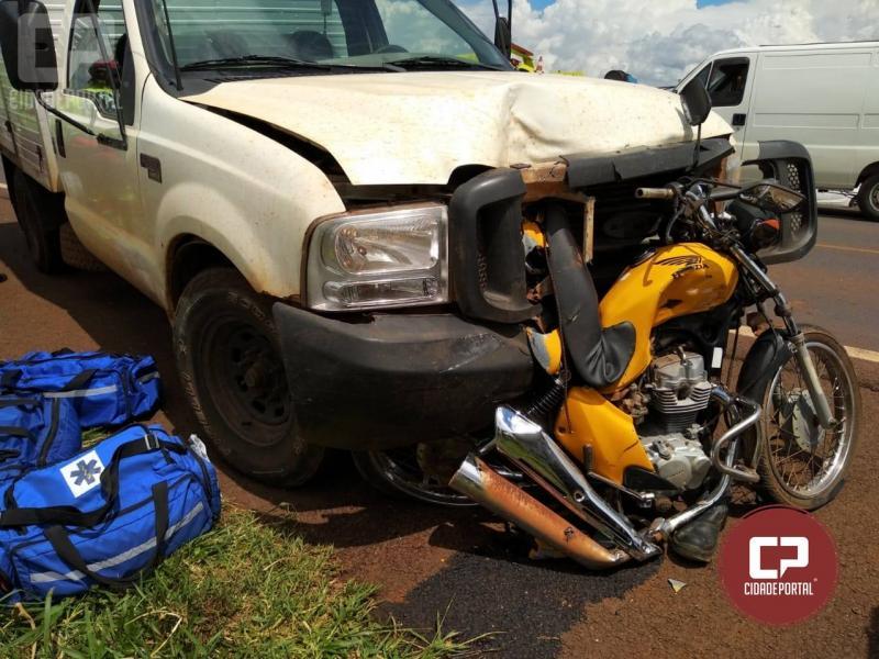 Polícia Rodoviária de cascavel atende acidente na BR-277 em Cascavel