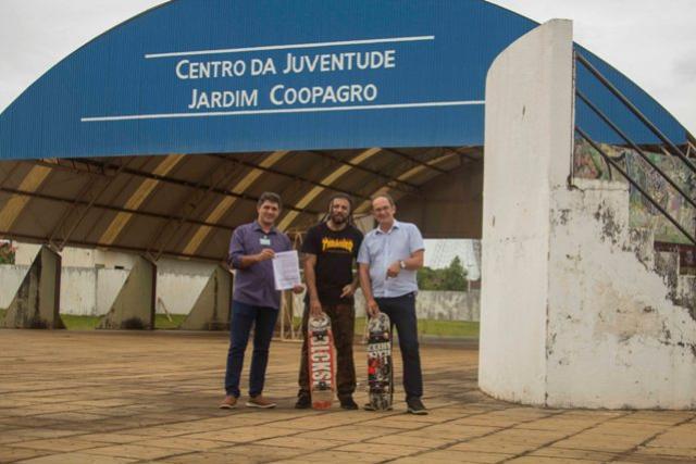 Centro da Juventude do Jardim Coopagro de Toledo terá uma nova pista de Skate