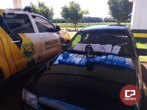 Equipe ROTAM da PRE Cascavel apreende veículo carregado com celulares contrabandeados