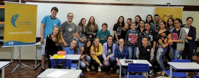 Ações descentralizadas da Juventude iniciam no interior de Toledo