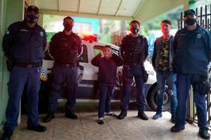 Guarda Municipal faz surpresa para menino de 8 anos em Toledo