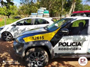 Polícia Rodoviária Estadual de M.C.Rondon apreende 189 kg de maconha durante operação