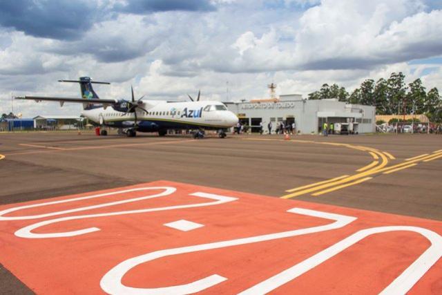 Aeroporto Luiz Dalcanale Filho completa 66 anos com excelentes resultados para comemorar