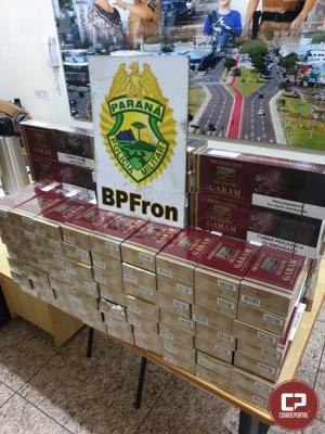 BPFron apreende cigarros contrabandeados na rodoviária de Cascavel