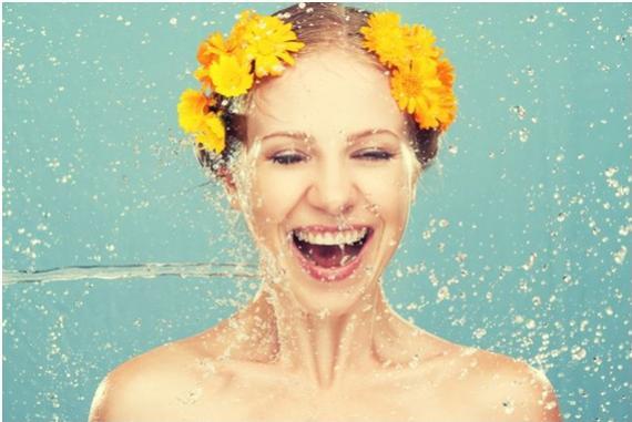 Importância da ingestão de água para a pele