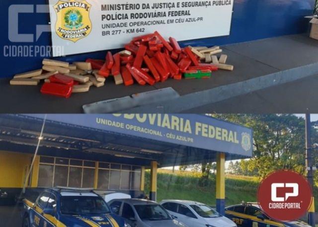 PRF prende quatro pessoas por tráfico de drogas em Céu Azul