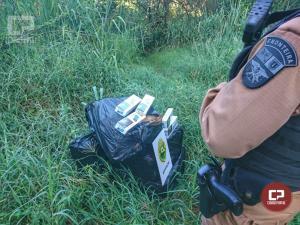 BPFron apreende cigarros contrabandeados durante Operação Hórus em Foz do Iguaçu