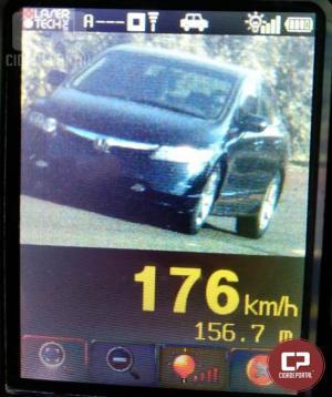Durante operação radar em Toledo PRE autua 70 motoristas por excesso de velocidade