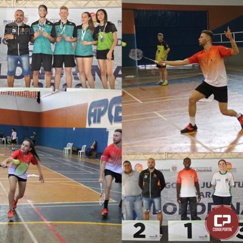 Anfitriões e Curitiba dominam pódio e levam título geral do badminton nos JOJUPS