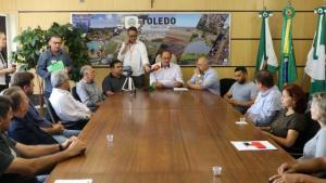 Toledo recebe R$ 10 milhões para investimento em diversas áreas