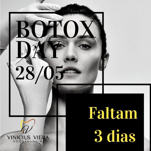 Consultório Vinicius Viera - Últimos horários disponíveis para quem deseja aplicar Botox. Garanta o seu!