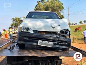 Uma pessoa foi presa por embriaguez após se envolver em acidente na PR-488