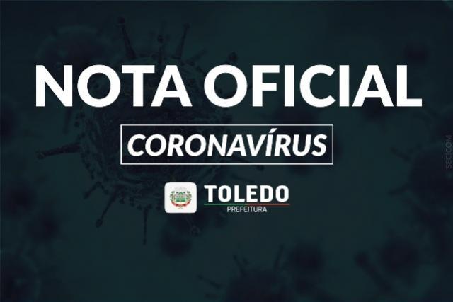 Boletim: Toledo registra 56º óbito por Covid-19